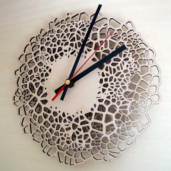 Voronoi Clock
