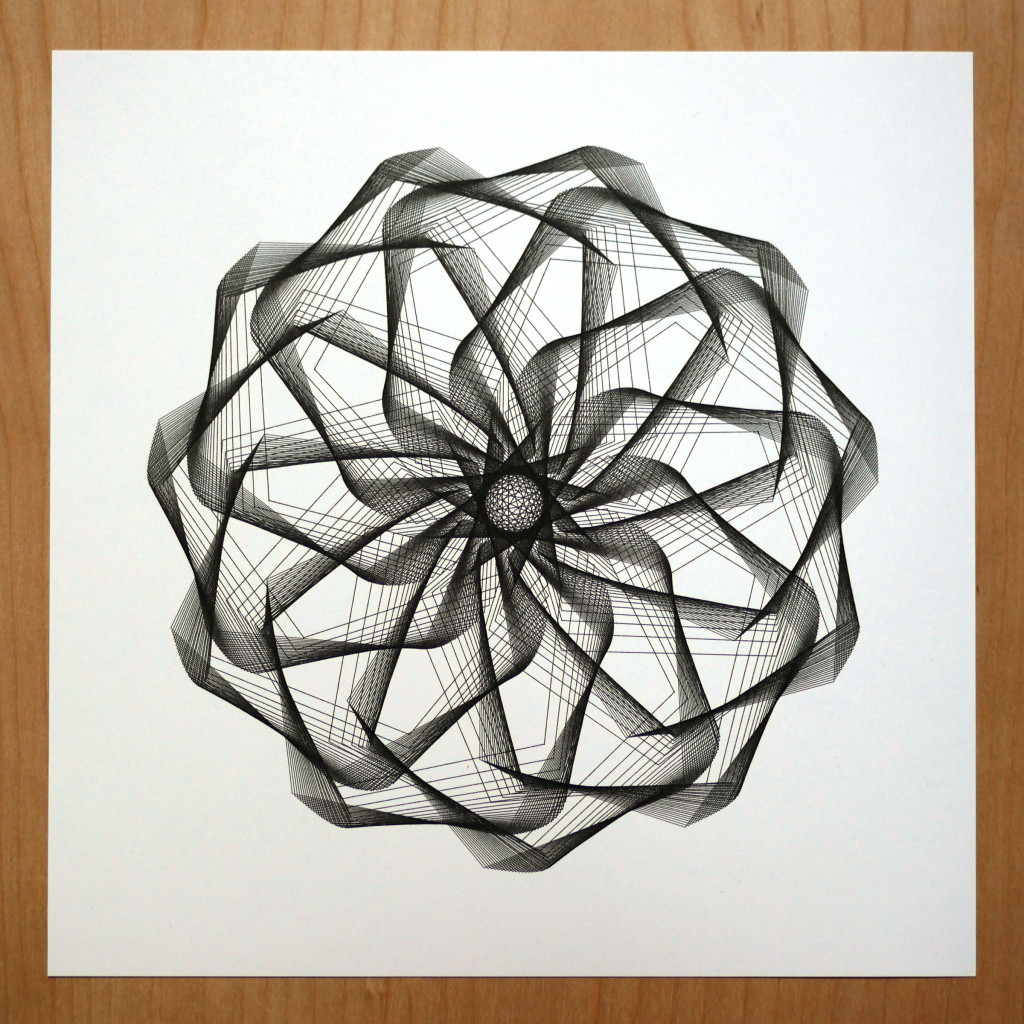 spirograph art by michelle chandra