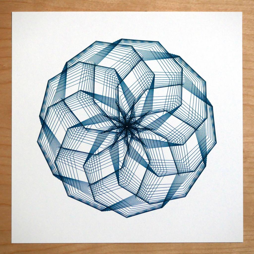 generative art spirograph creative code art
